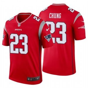 Men Patrick Chung #23 New England Patriots Jersey